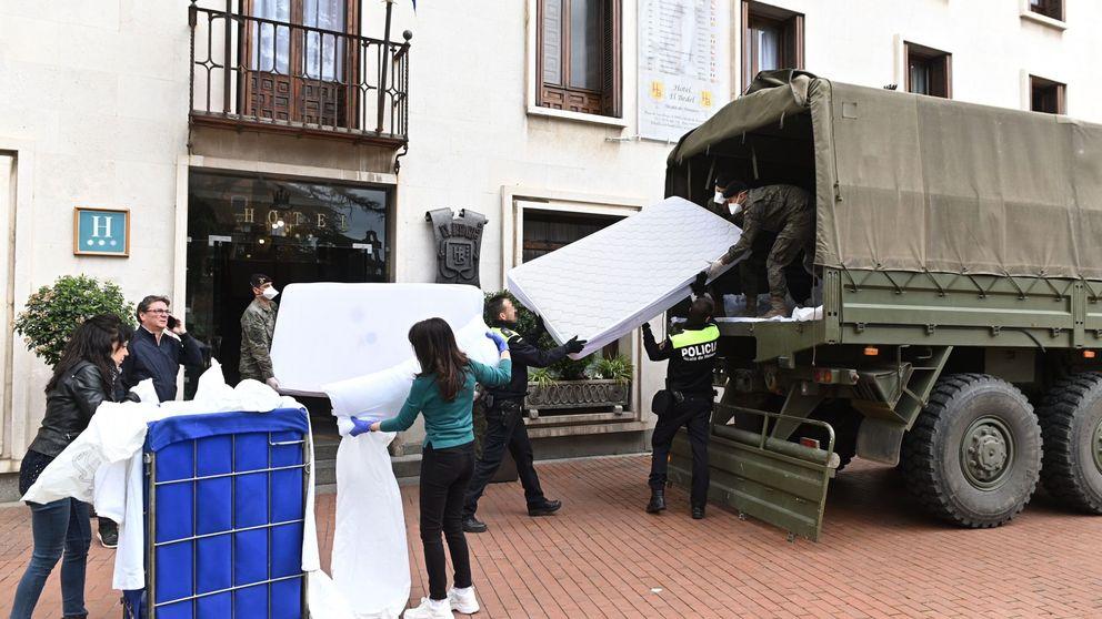 Estamos en tiempos de guerra: los hoteles, listos para convertir sus camas en camillas