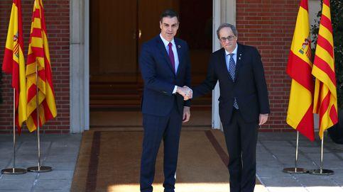 Sánchez recibe a Torra en Moncloa en la primera cita de la mesa de diálogo