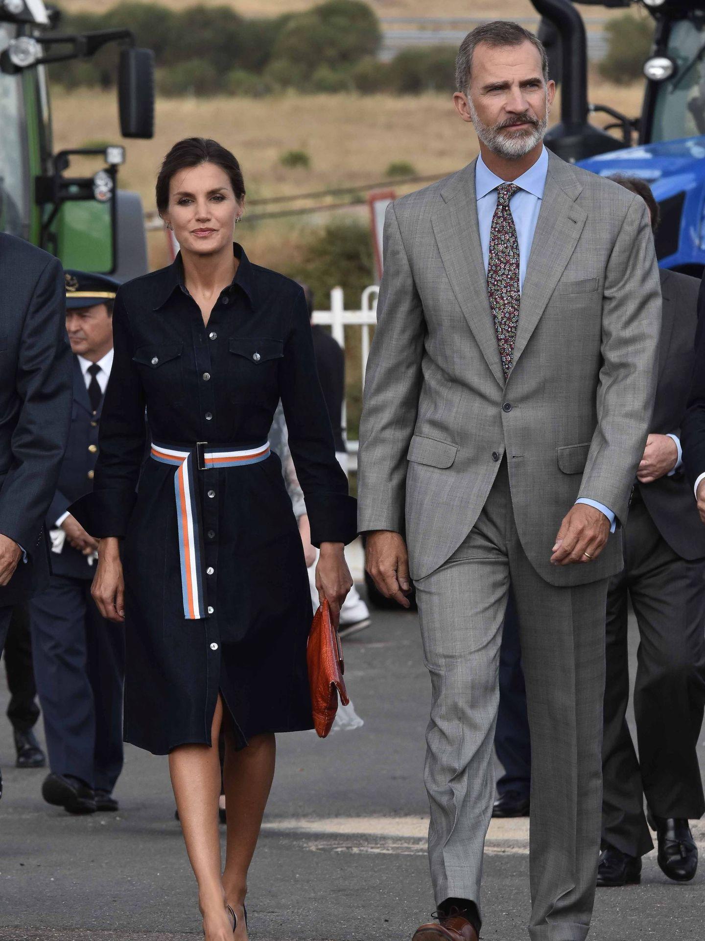Los Reyes de España, en Salamaq 2018. (Cordon Press)