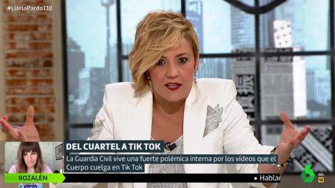 El zasca de Cristina Pardo a los guardias civiles que critican la cuenta de Tik Tok