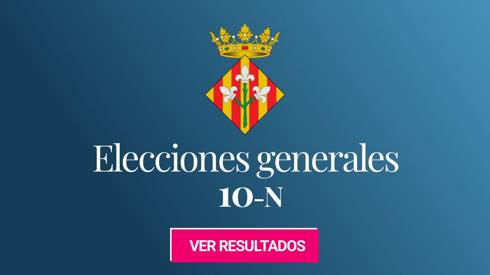 Foto: Elecciones generales 2019 en Lleida. (C.C./EC)