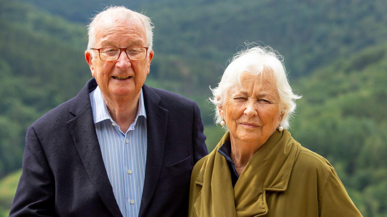 El rey Alberto y la reina Paola, en una imagen reciente. (Reuters)