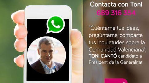 UPyD habilita un número de teléfono para contactar con Toni Cantó por WhatsApp