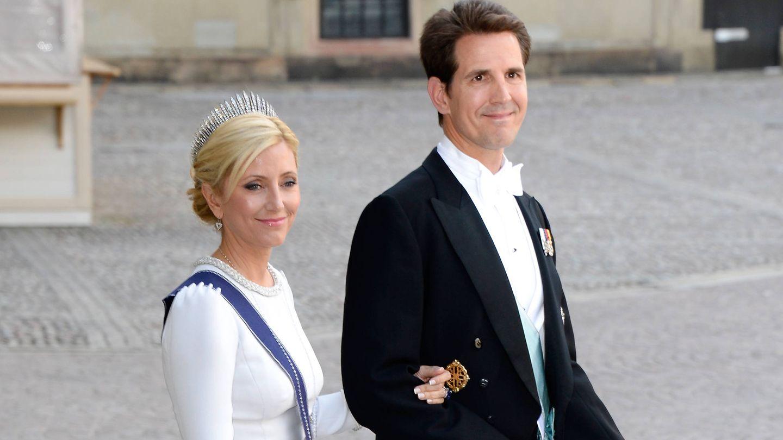 Marie-Chantal y Pablo de Grecia, en una imagen de archivo. (Getty)
