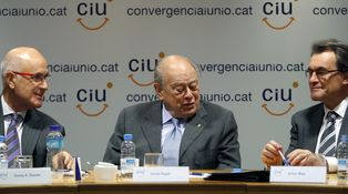 La Cataluña política, colapsada