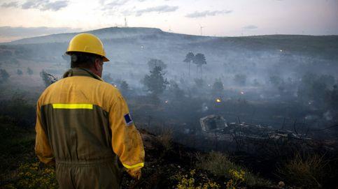 Incendio en Manzarete por el vuelco de un camión