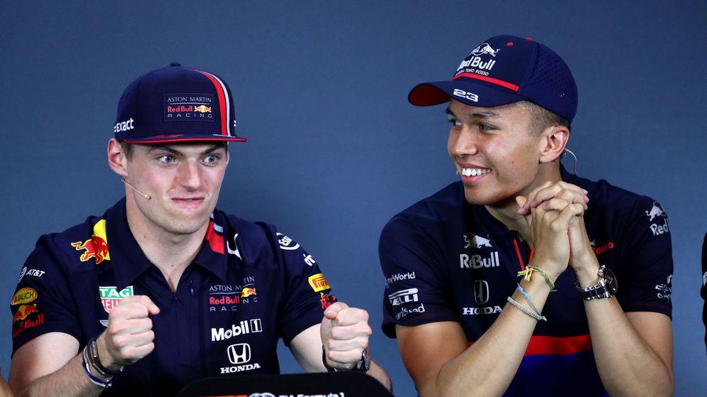 Foto: El duro reto que tendrá Albon en Red Bull. (Reuters)