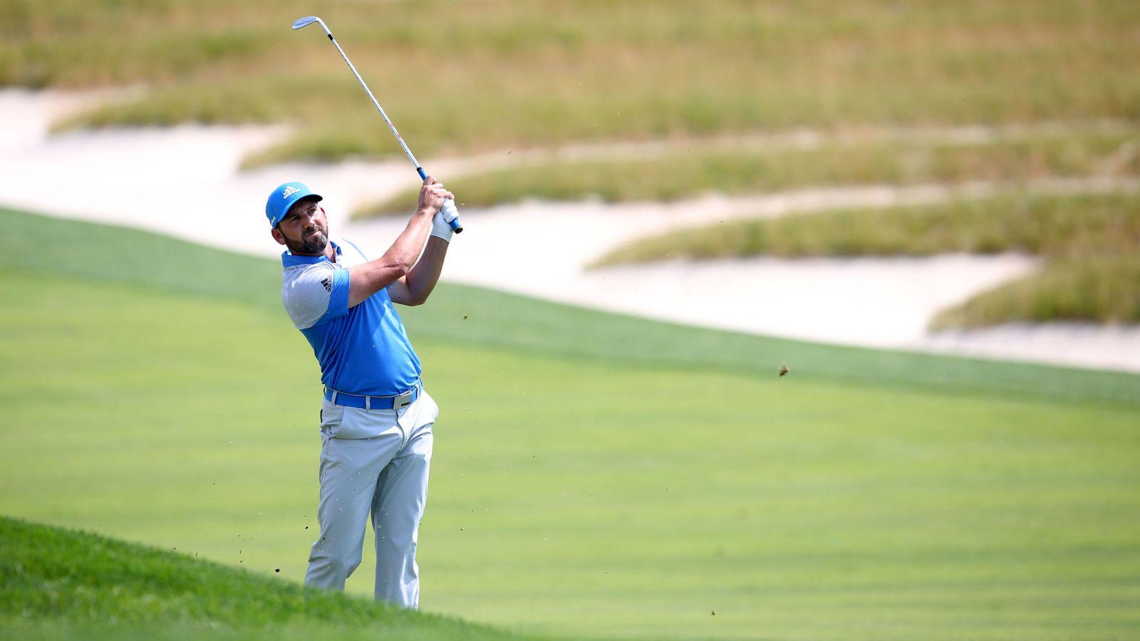 Foto: Sergio García en el U.S. Open. Foto: Charles LeClaire (USA Today)