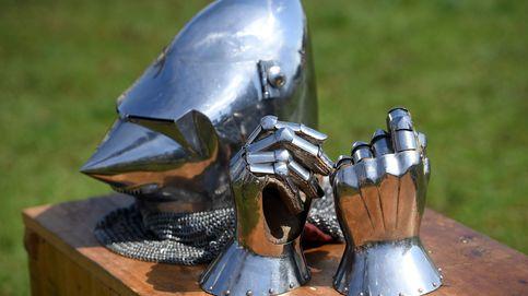Una armadura medieval impoluta