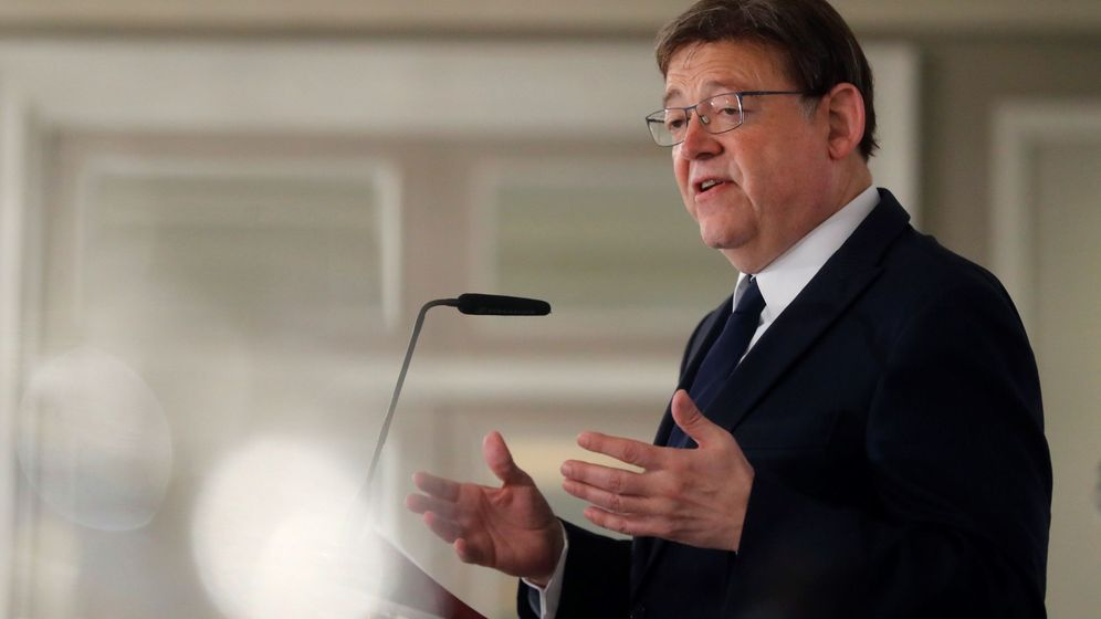 Foto: El 'president' valenciano, Ximo Puig. (EFE)