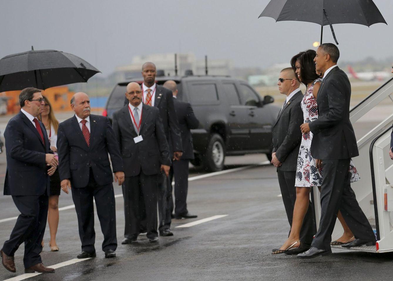 Foto: El presidente Barack Obama a su llegada al aeropuerto de La Habana, el 20 de marzo de 2016 (Reuters).