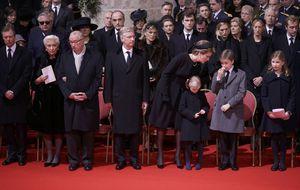 La 'Salve Rociera' despide a la reina Fabiola en la catedral