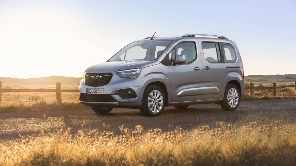 Foto: El nuevo Opel Combo Life, la quinta generación, llegará al mercado a finales del verano.