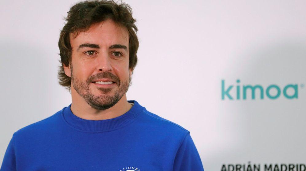 Foto: Fernando Alonso presentó el proyecto mission blue x kimoa. (EFE)