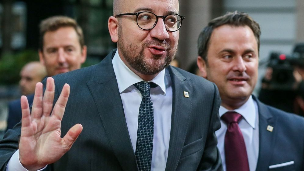 Foto: El primer ministro belga, Charles Michel. (EFE)