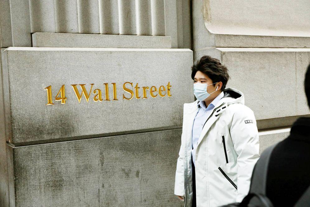 Foto: El coronavirus también provoca inquietud en Wall Street. (Reuters)
