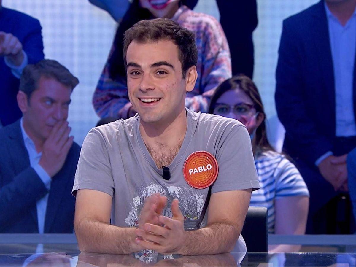 Foto: El concursante Pablo Díaz. (Atresmedia)