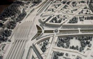 Calatrava inaugura la estación de Lieja tras 13 años de construcción
