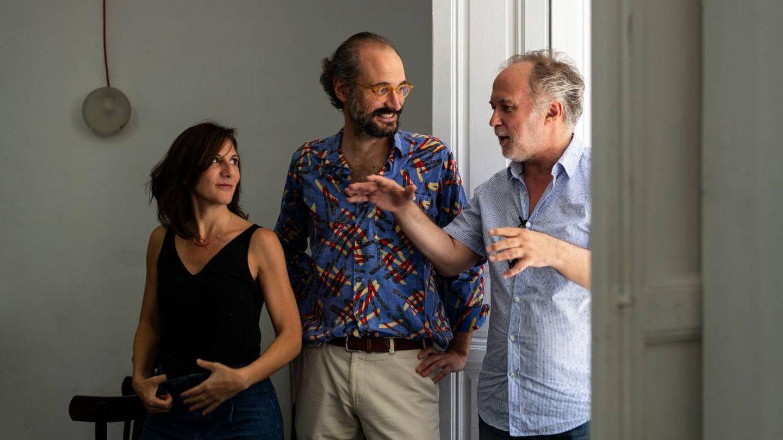 Malena Alterio, Pablo Rosal y Luis Bermejo. (Laura Ortega)