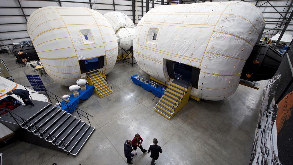 Por qué esta nave hinchable puede revolucionar el turismo espacial
