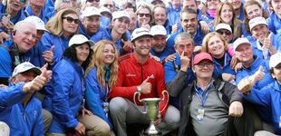 Post de Jon Rahm y sus ganas de España: