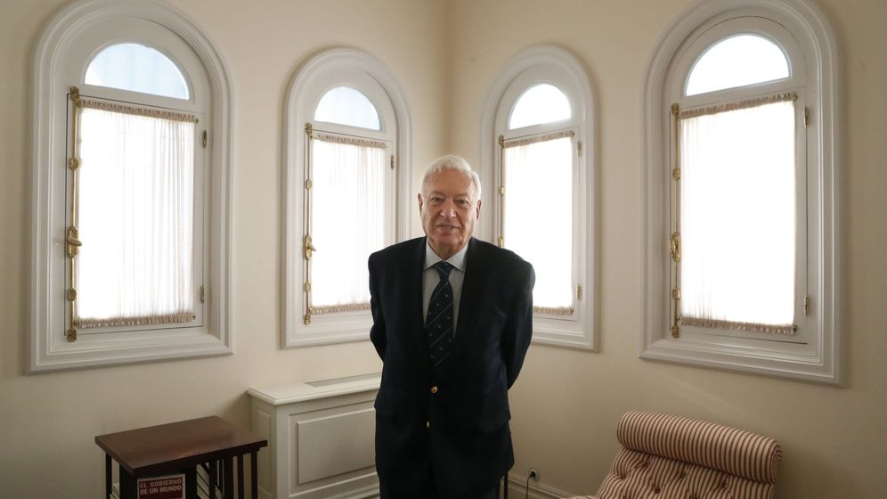 Foto: García-Margallo, durante una entrevista. (EFE)