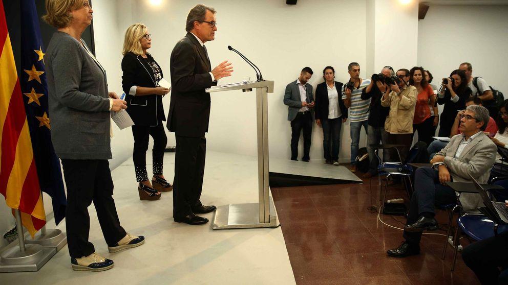 Artur Mas reclama un referéndum unilateral si el Estado español no cede
