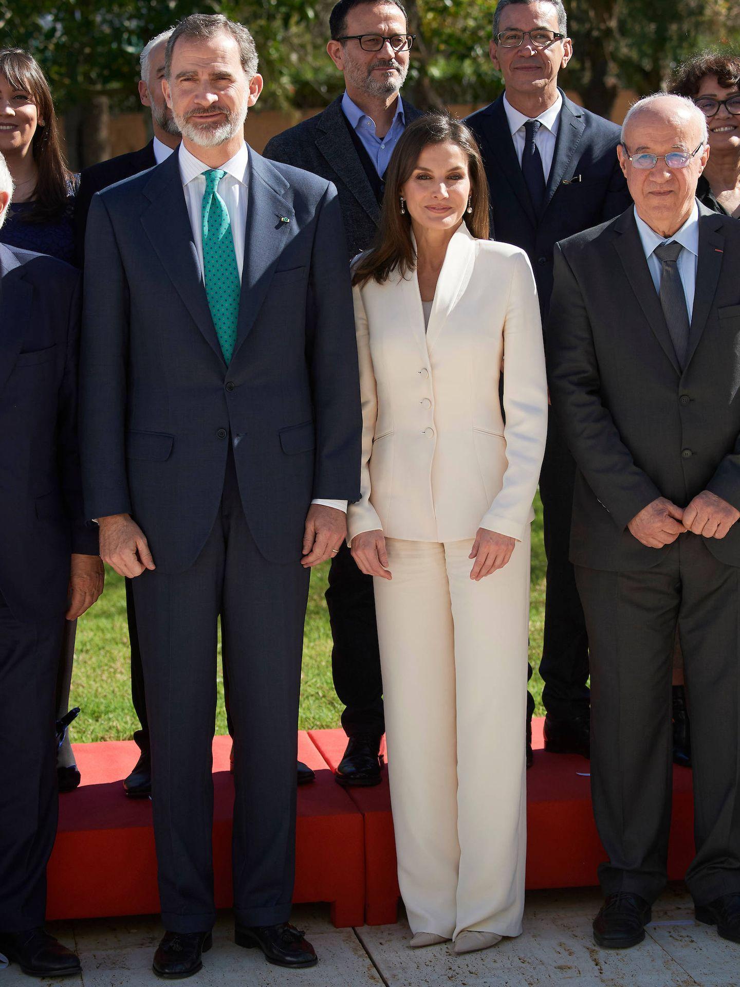Don Felipe y doña Letizia, en Marruecos. (LP)