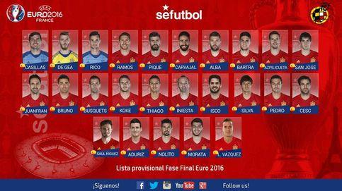 Lucas Vázquez y Sául entran en la prelista para la Euro; Diego Costa, fuera