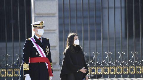 En imágenes: Los reyes Felipe y Letizia presiden una Pascua Militar marcada por el covid