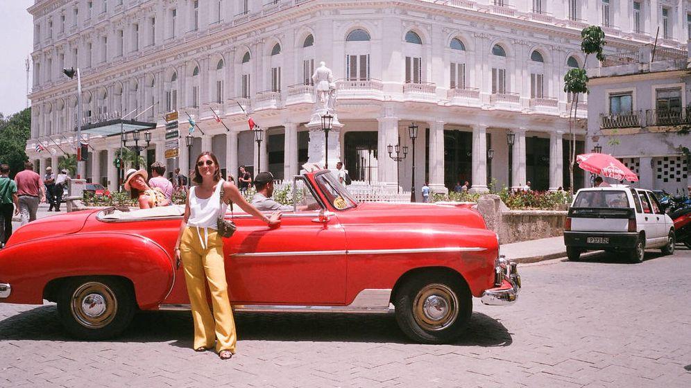 Foto: Matilde Mourinho, en La Habana. (Instagram)