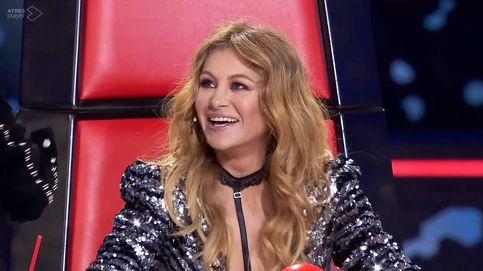 Paulina es imprescindible en 'La Voz', da igual que no sea una gran cantante