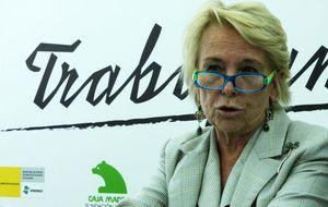 La 'otra' fundación de Carmen Cafranga: dejó Caja Madrid, sigue en la Pardo-Valcarce