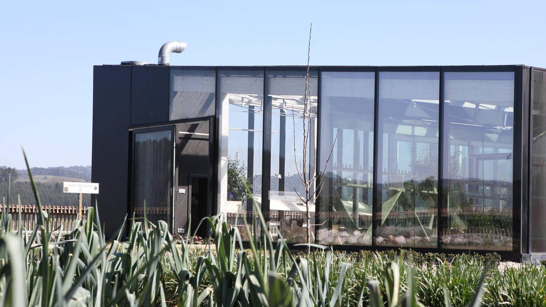 Centro de sostenibilidad Azurmendi.