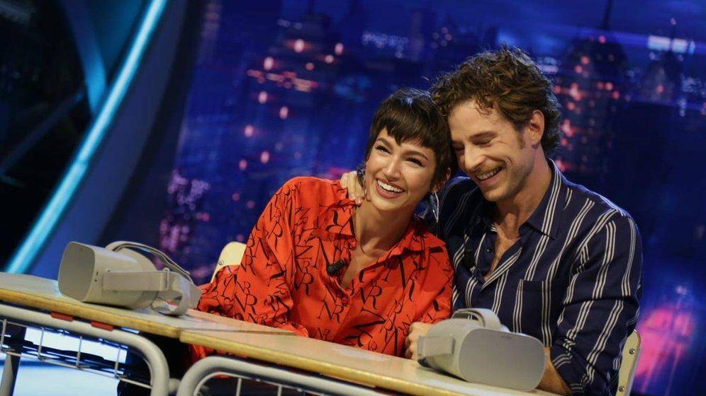 Foto: Úrsula Corberó y Álvaro Cervantes en 'El hormiguero'. (Antena 3)