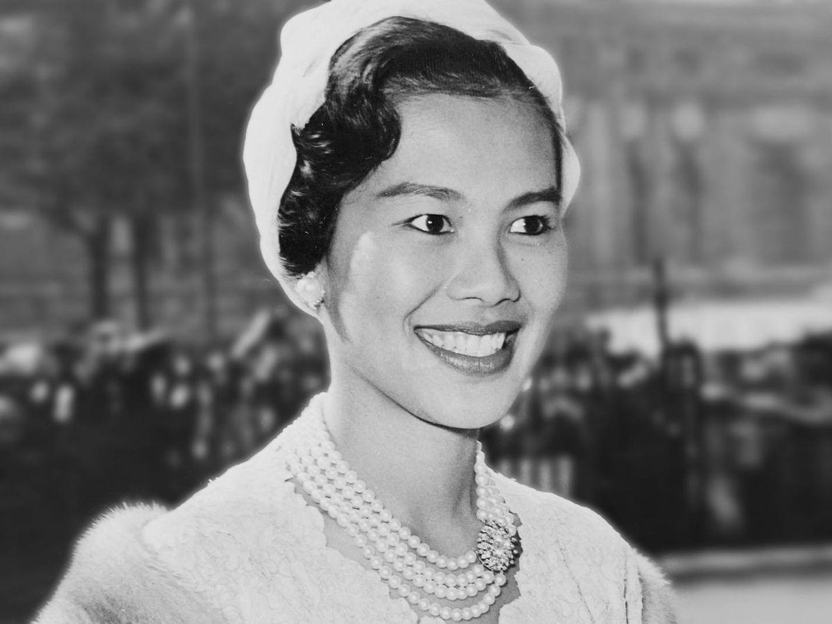 Foto: La reina Sirikit, en una imagen de archivo, en 1960. (Cordon Press)
