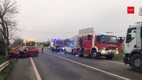 Accidente en Villamanta: el choque entre dos coches provoca la muerte de un joven de 24 años