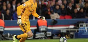 Post de Los motivos para señalar en el Real Madrid a Thibaut Courtois
