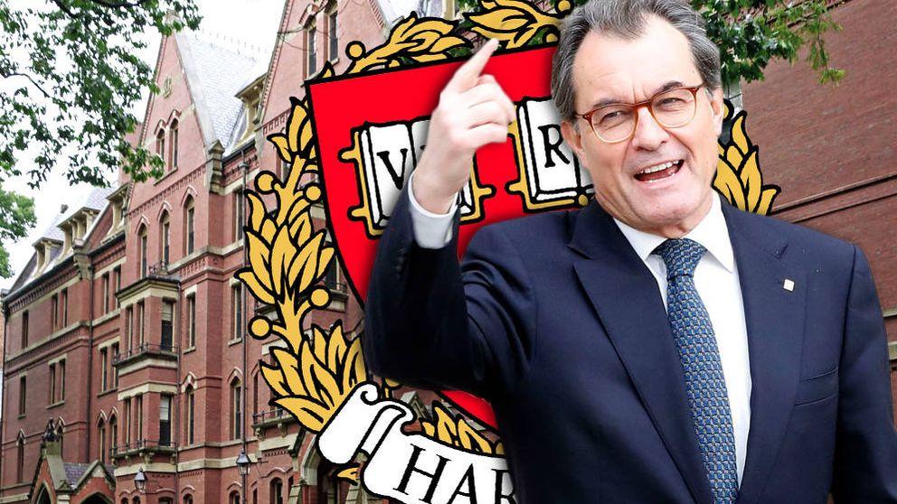Artur Mas va por libre: lleva el proceso soberanista catalán a Oxford y Harvard