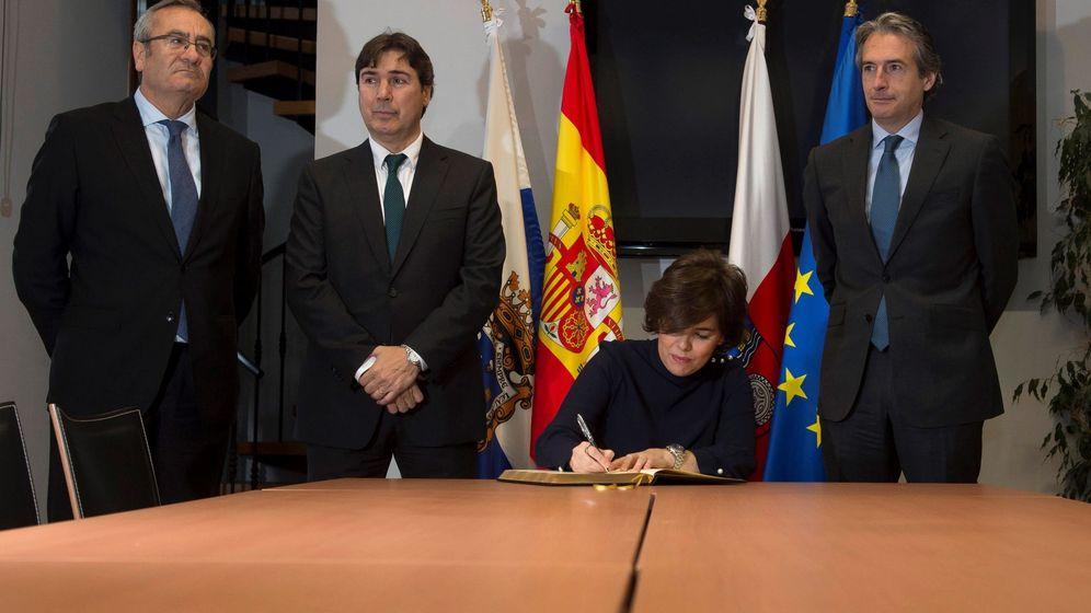 Foto: Soraya Saénz de Santamaría, en una foto de archivo. (EFE)