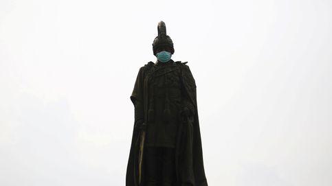 La contaminación ataca a las estatuas