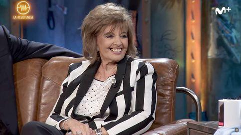María Teresa Campos se desata en 'La resistencia': Yo me caliento mucho