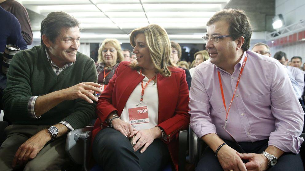 El PSOE y Susana Díaz ordenan no hablar de la abstención hasta cerrar heridas