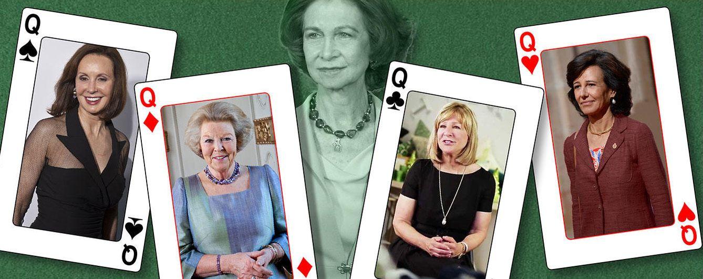 Foto: Las cuatro damas más poderosas del Club Bilderberg