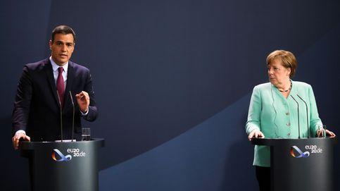 Merkel pasa revista a las empresas españolas por la gestión de los fondos europeos
