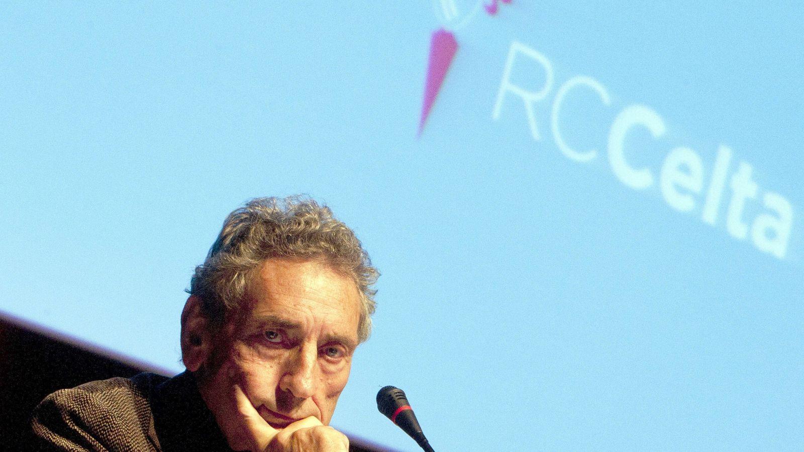 Foto: El presidente del Celta de Vigo, Carlos Mouriño. (EFE)