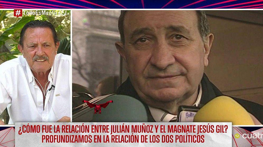 Foto: Julián Muñoz critica 'El Pionero', la serie documental de HBO. (Mediaset)