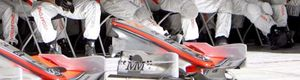 McLaren prueba en Montmeló un renovado alerón delantero con de la Rosa y Alonso