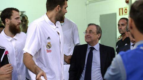 Florentino se aferra al baloncesto y a la Novena para no llevarse otro disgusto