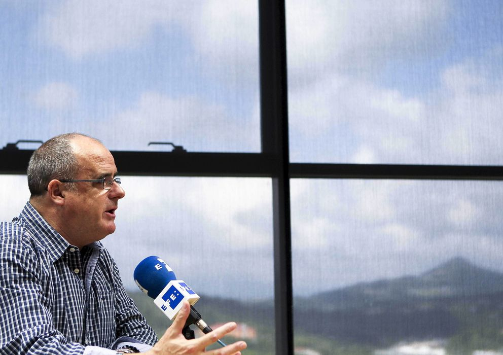 Foto: Efe entrevista a joseba egibar